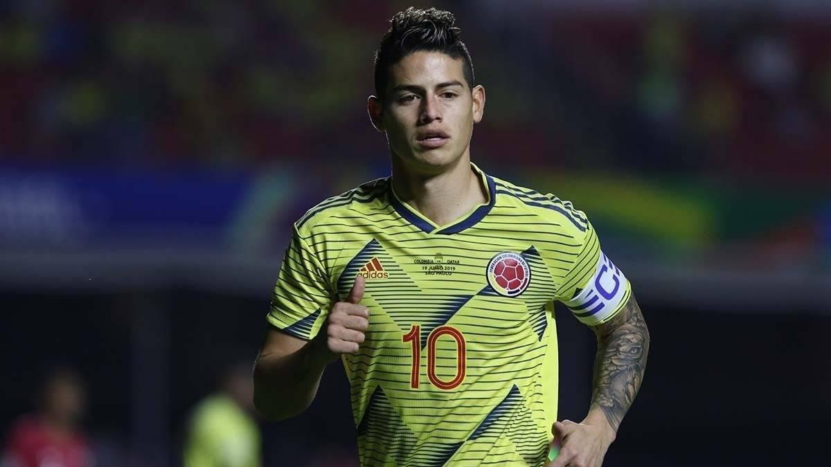 ¿James Rodriguez pasaría a jugar con el rival de su querido Real Madrid?
