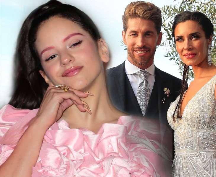 Rosalía se negó a actuar en la boda de Sergio Ramos y Pilar Rubio, y no fue la única