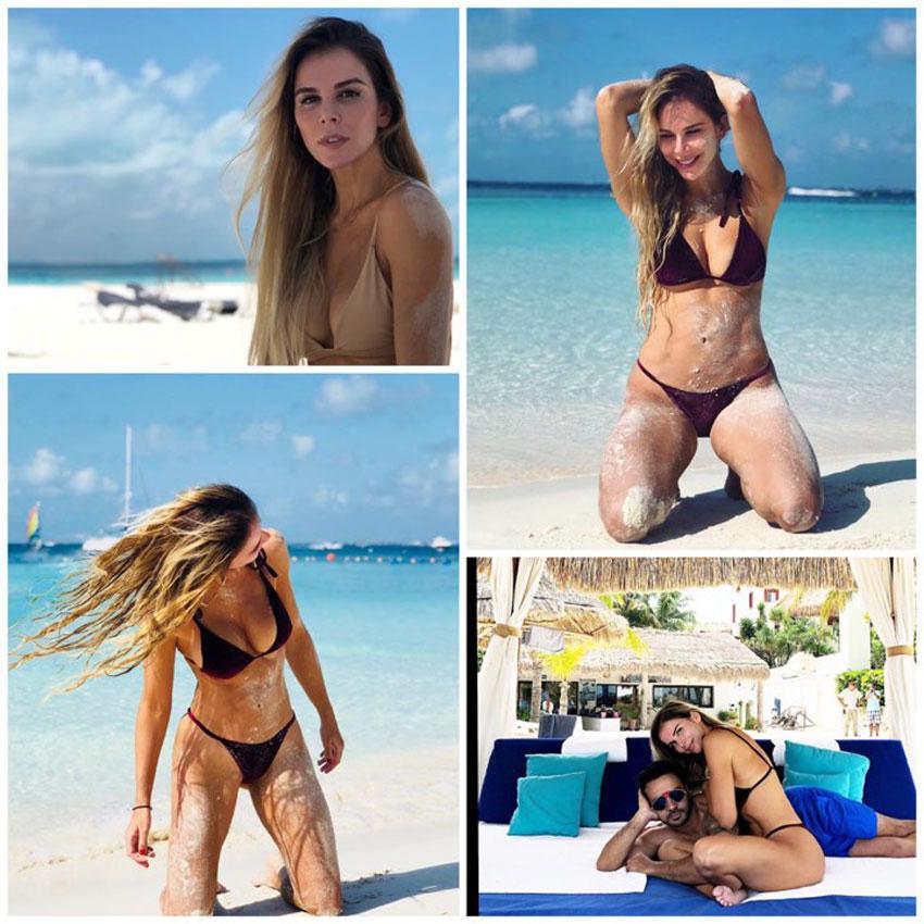 La esposa de Luis Fonsi, Águeda López, lució un infartante bikini