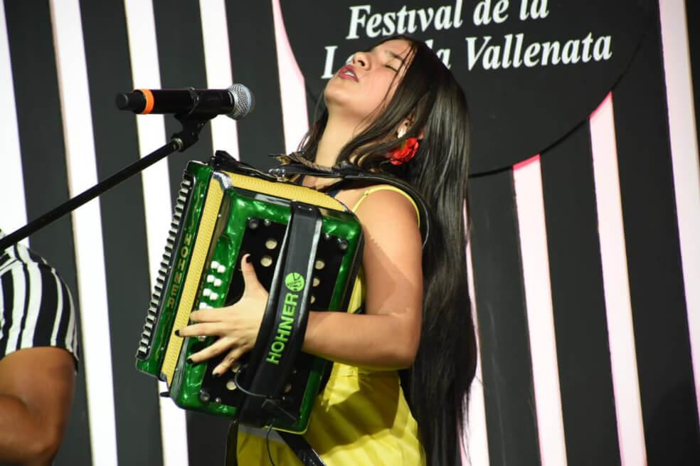 Loraine Lara Mercado: la reina del acordeón