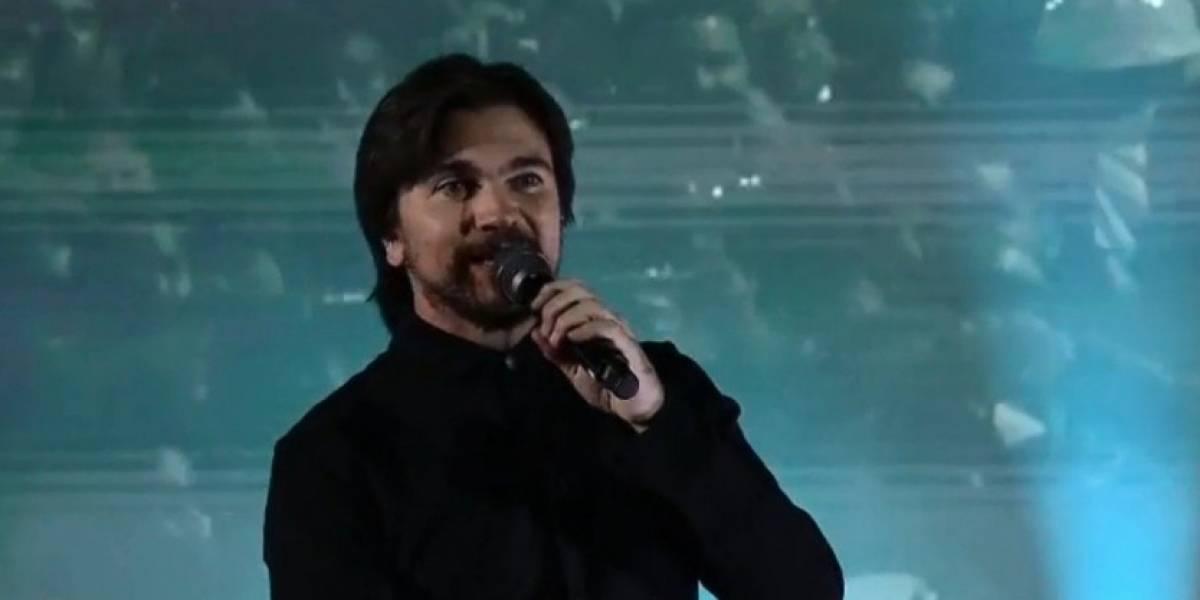 El llamado de Juanes al Gobierno en pleno Rock al Parque