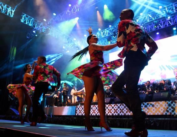 ¡La Big Band de la Feria de Cali! Con canciones icónicas presentaron la edición 2019